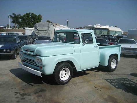 Ford F100 For Sale by 1960 Ford F100 For Sale Classiccars Cc 708566