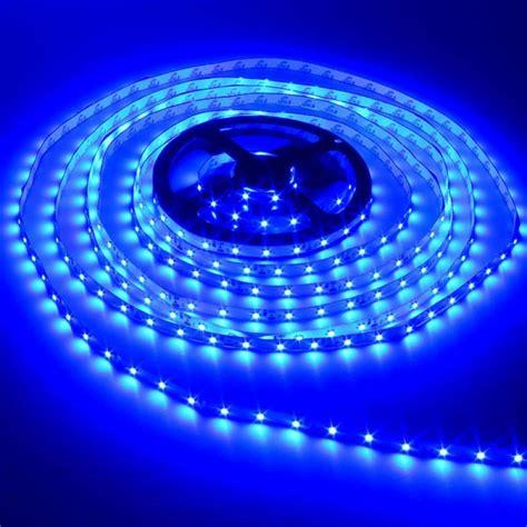 Dc Led Light Strips Buy 5m 300 Smd 3528 Blue Non Waterproof Dc 12v Led Lights Bazaargadgets