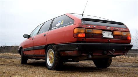 Audi 100 Tdi by 1988 Audi 100 Avant 2 5tdi Quattro Exhaust Sound 1080p