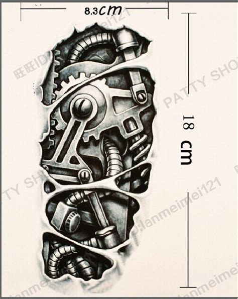 machine arm tattoo 17 best images about tattoos on tribal back