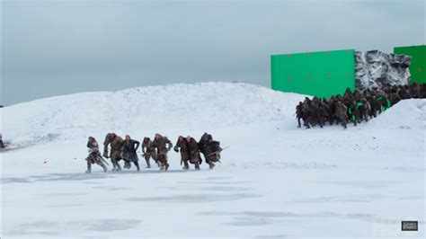 film frozen lake game of thrones cast reveals how hellish it was to