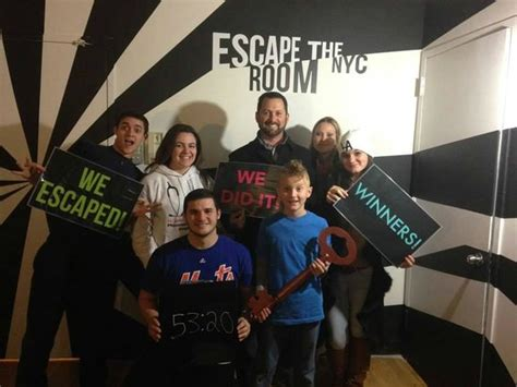 escape the room nyc we escaped picture of escape the room nyc new york city tripadvisor