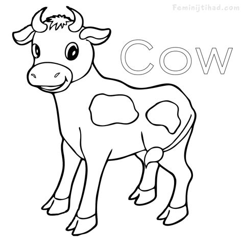 cow coloring pages cow coloring pages cpaaffiliate info