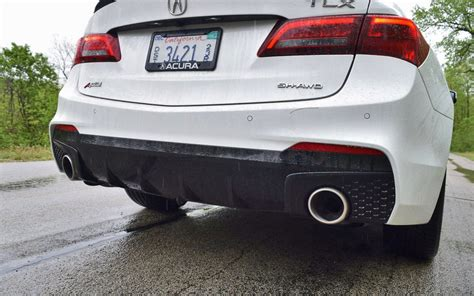 Tlx Exhaust Tips by 2018 Acura Tlx A Spec Sh Awd Drive 42