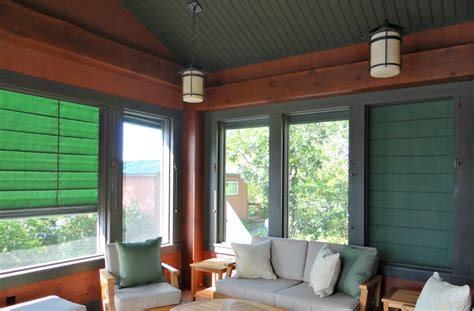 lighting ideas   screen porch weather queen shades