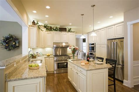 kitchen marble island with seating granite countertop bay white cabinets with hardware kitchen with granite
