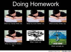Homework Meme - doing homework meme generator what i do