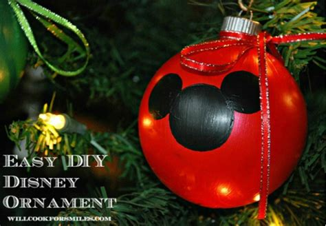 diy mickey mouse christmas decorations 7 diy mickey mouse ornaments overstuffed