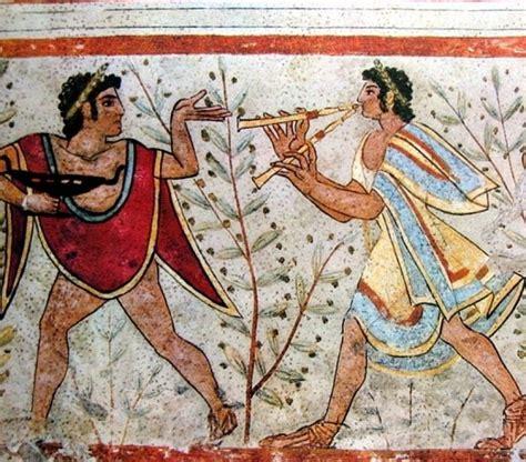 banchetto etrusco modi di cucinare degli etruschi