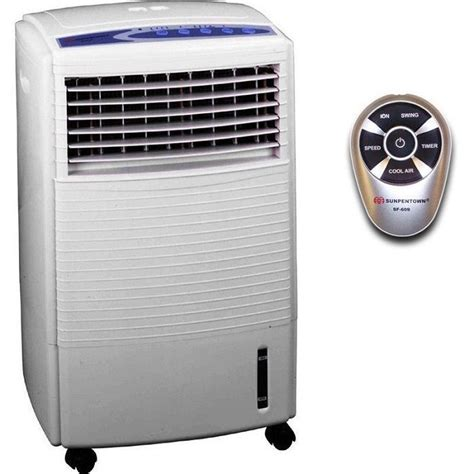 evaporative air cooler portable air purifier cooling conditioner fan ionizer new sunpentown