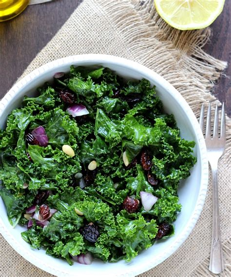 Kale Apple Green Detox Salad by Detox Kale Salad With Lemon Apple Vinaigrette