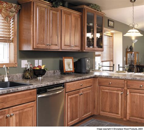 kitchens with hickory cabinets hickory cabinets kitchen rustic with cabin antique door