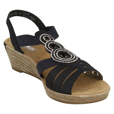 ebay cunas mujer rieker sandalias de cu 241 a 62459 ebay