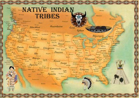 american tribes by state map of the united states early american tribes 92 best