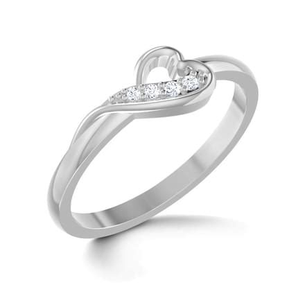 entwined platinum ring jewellery india