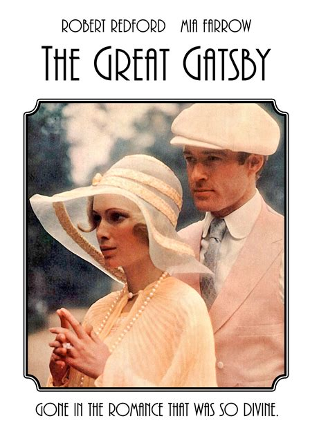 the great gatsby 1974 trailer robert redford mia the great gatsby travalanche