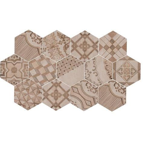 piastrella gres porcellanato clays 21x18 2 marazzi decoro cementine caldo piastrella