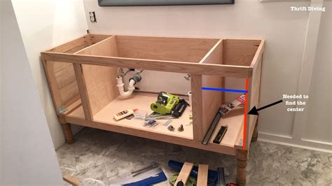 make bathroom vanity from kitchen cabinets build a diy bathroom vanity part 4 making the drawers