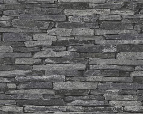 hellgraue wand wallpaper bricks grey as creation 9142 24