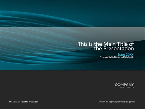 Transparent Tubes Presentation Cover Page Template Presentation Cover Page Template