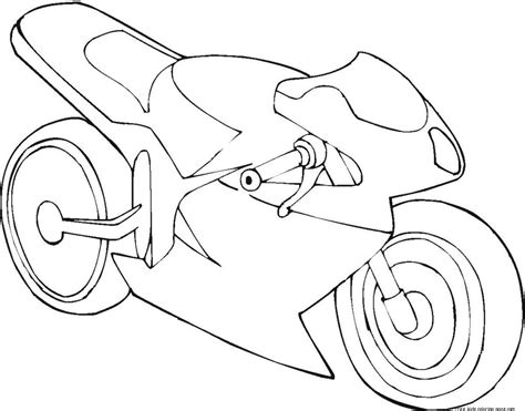 motorcycle coloring pages easy motorcycle coloring pages simple motorcycle coloring pages