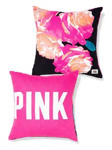 throw pillow pink s secret from vs pink