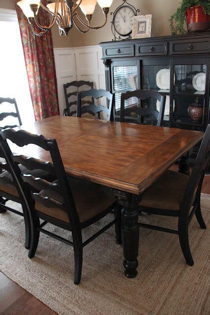 Black Dining Room Table Diy Best 25 Black Dining Room Paint Ideas On Diy Dining Room Paint Refurbished Dining