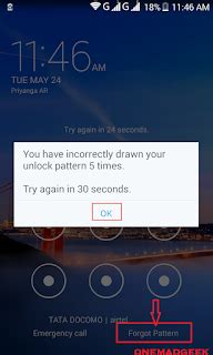 forgot pattern on android and gmail forgotten pin password on your android device