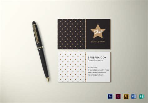 business card template illustrator 21 business cards free psd ai vector eps