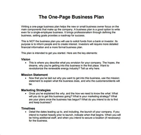 Permalink to Apple Pages Business Plan Template