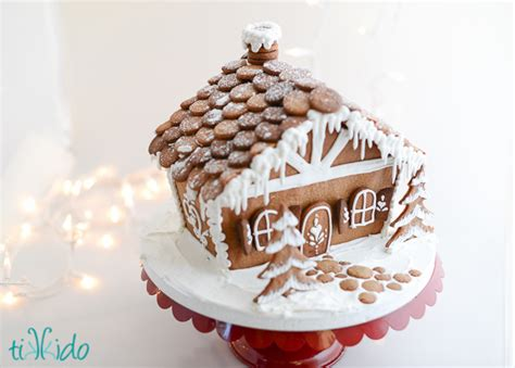 gingerbread house recipe template fun family crafts