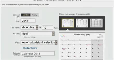 Generar Calendario Tecnolog 237 A Habitual Generar Calendarios En Pdf E Imprimirlos