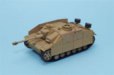 Tank Papercraft - wwii stug iii ausf g armoured fighting vehicle paper