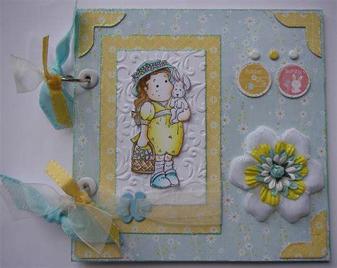 Handmade Scrapbook Album - ooak handmade easter brag memory scrapbook albums notebook
