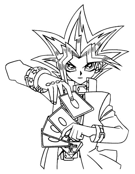 coloring pages yugioh coloring page yu gi oh coloring pages 51