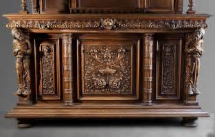 antique neo renaissance style furniture made out of carved
