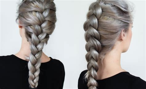 Stylish Three Strand Hairstye | braiding styles three strand braid youtube