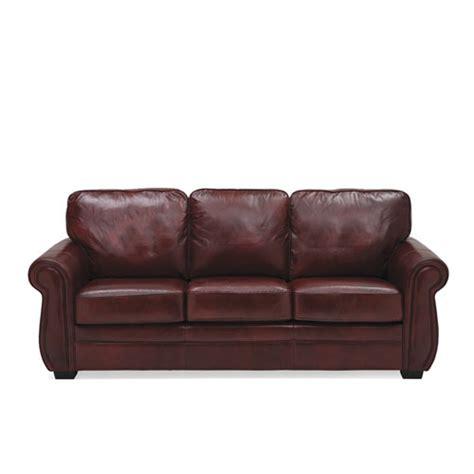 thompson sofa living spaces thompson leather sofa 183 leather express furniture