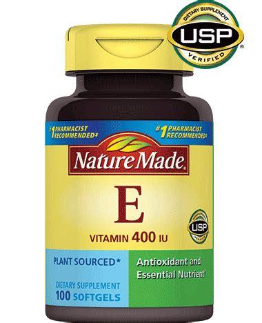 e supplement 400 iu nature made vitamin e 400 iu d alpha liquid softgel