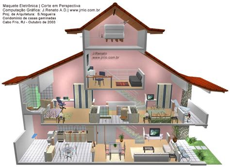how to design a house 3d 3d rendering attached houses
