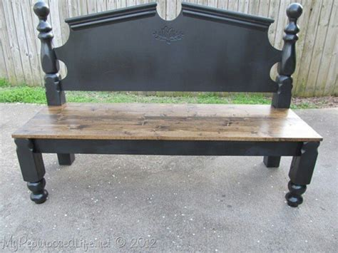 bench made from bed 70 best images about bed frame benches on pinterest iron