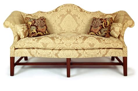 queen anne couch andersen stauffer furniture makers seating coates