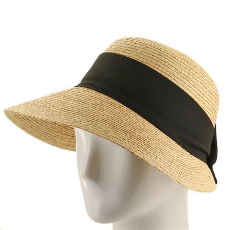 golf visor scoop panama straw hat womens ebay