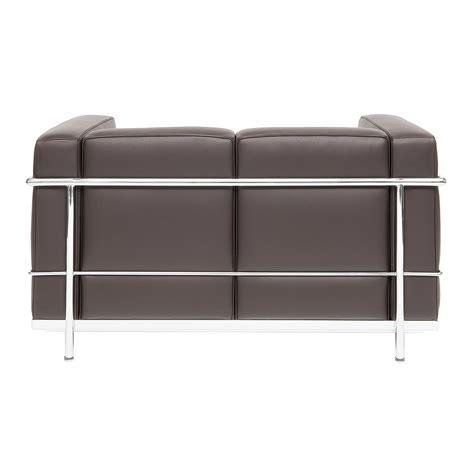 lc sofa corbusier designed sofa lc 22 steelform design classics
