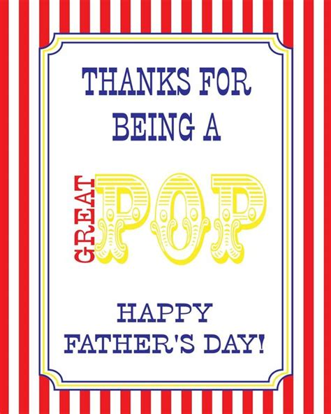 http www 1dogwoof fathers day pop card free silhouette templates quot thanks for being a great pop quot free s day