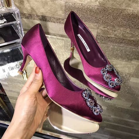 Mb Mnolo Bahnik Uk35 40 imitation manolo blahnik purple mb heels shoes shoes329 185 00 luxury shop