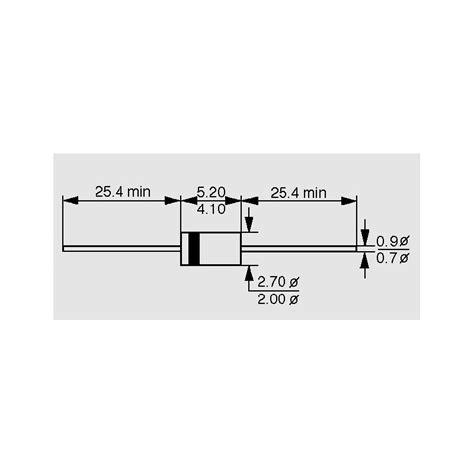 1n4746a zener diode datasheet 1 n 4746 a 1w zener diodes elpro elektronik