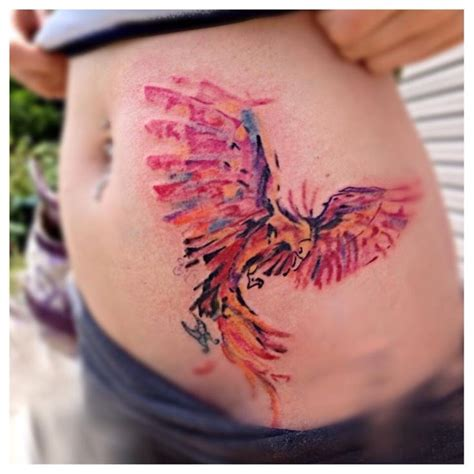 watercolor phoenix tattoo 17 best ideas about watercolor on