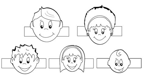 Family Finger Puppets Template Thanksgiving Church