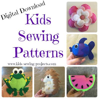 Kids Beginning Sewing Projects and Lessons for Level 3
